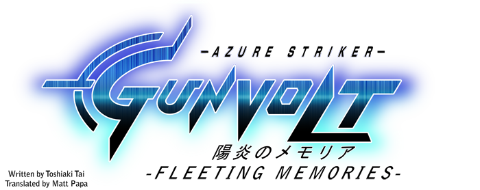 Azure Striker Gunvolt Fleeting Memories