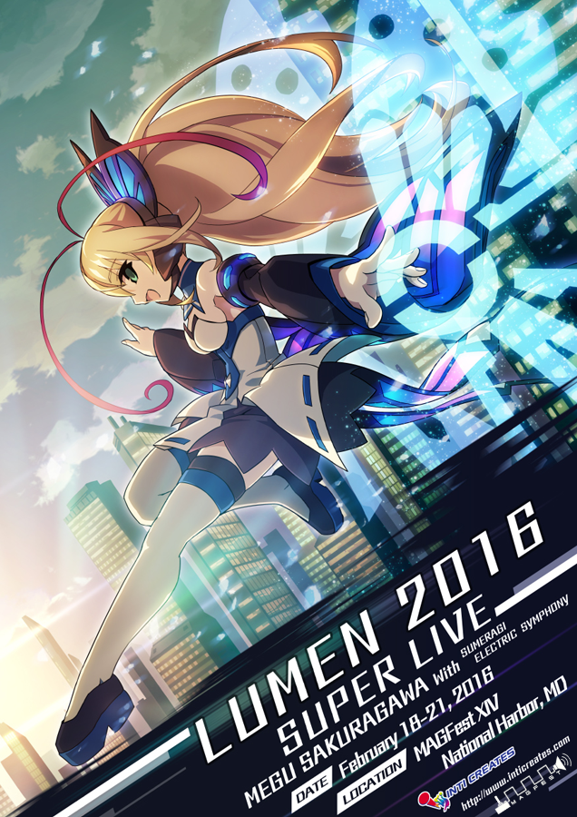 Lumen Super Live MAGFest Concert Poster(MAGFest Logo)