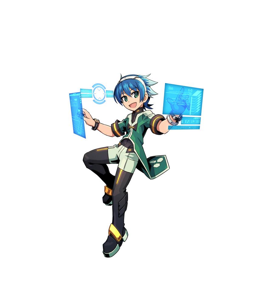 Azure Striker Gunvolt 2 - Xiao Wu