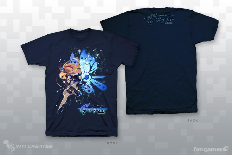 Gunvolt Merchandise - T-shirt