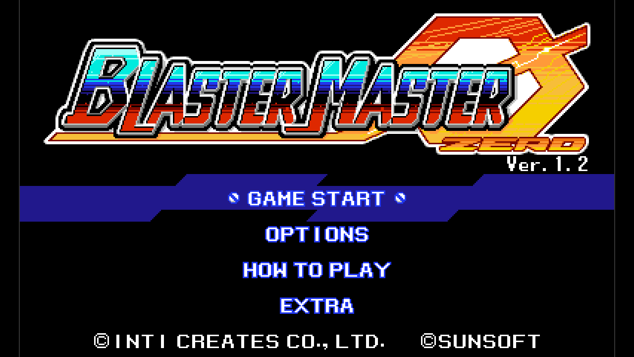 BMZ Ver. 1.2 Title Screen