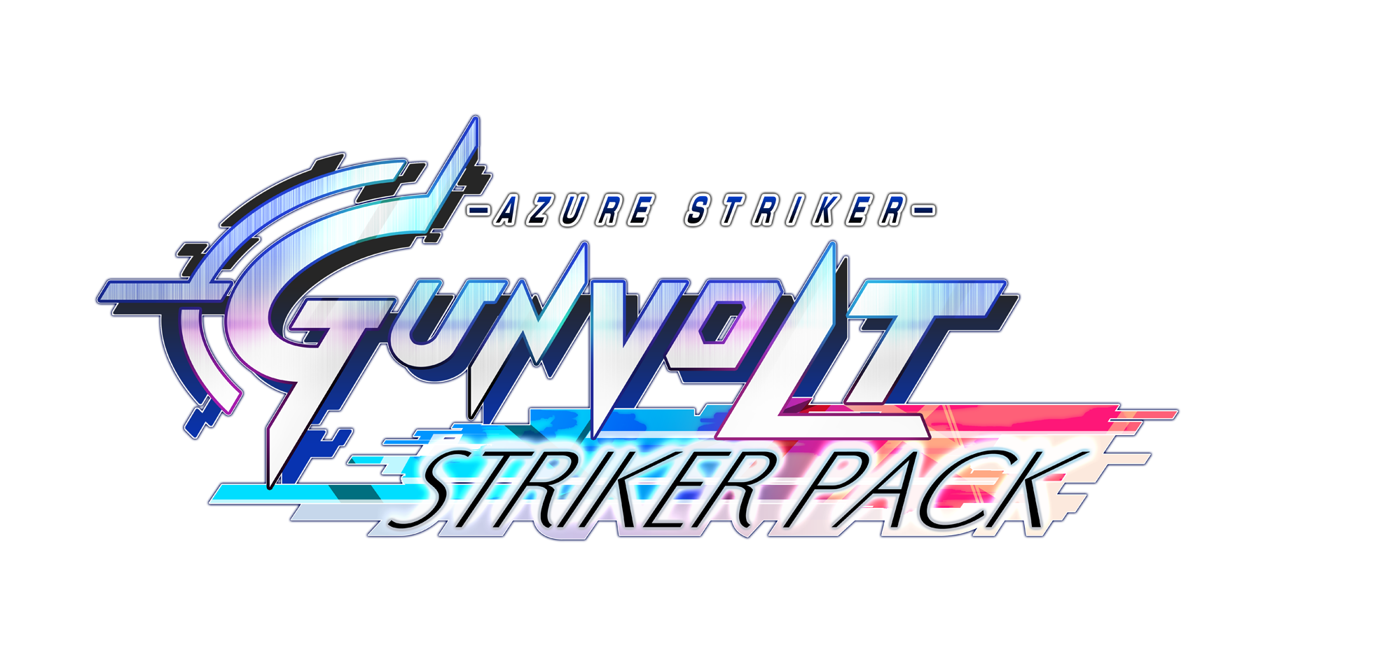 Azure Striker GUNVOLT Striker Pack - Logo (no BG)