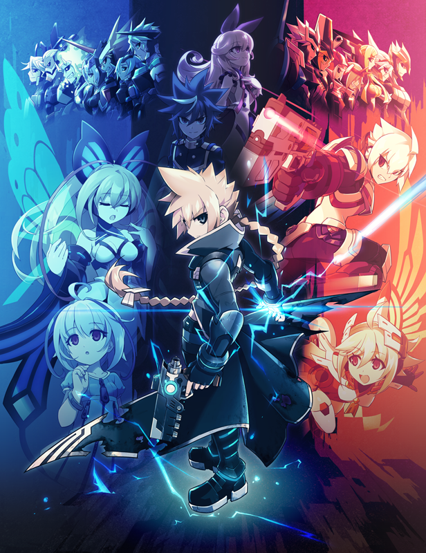 Azure Striker Gunvolt Striker Pack - Key Art (small)
