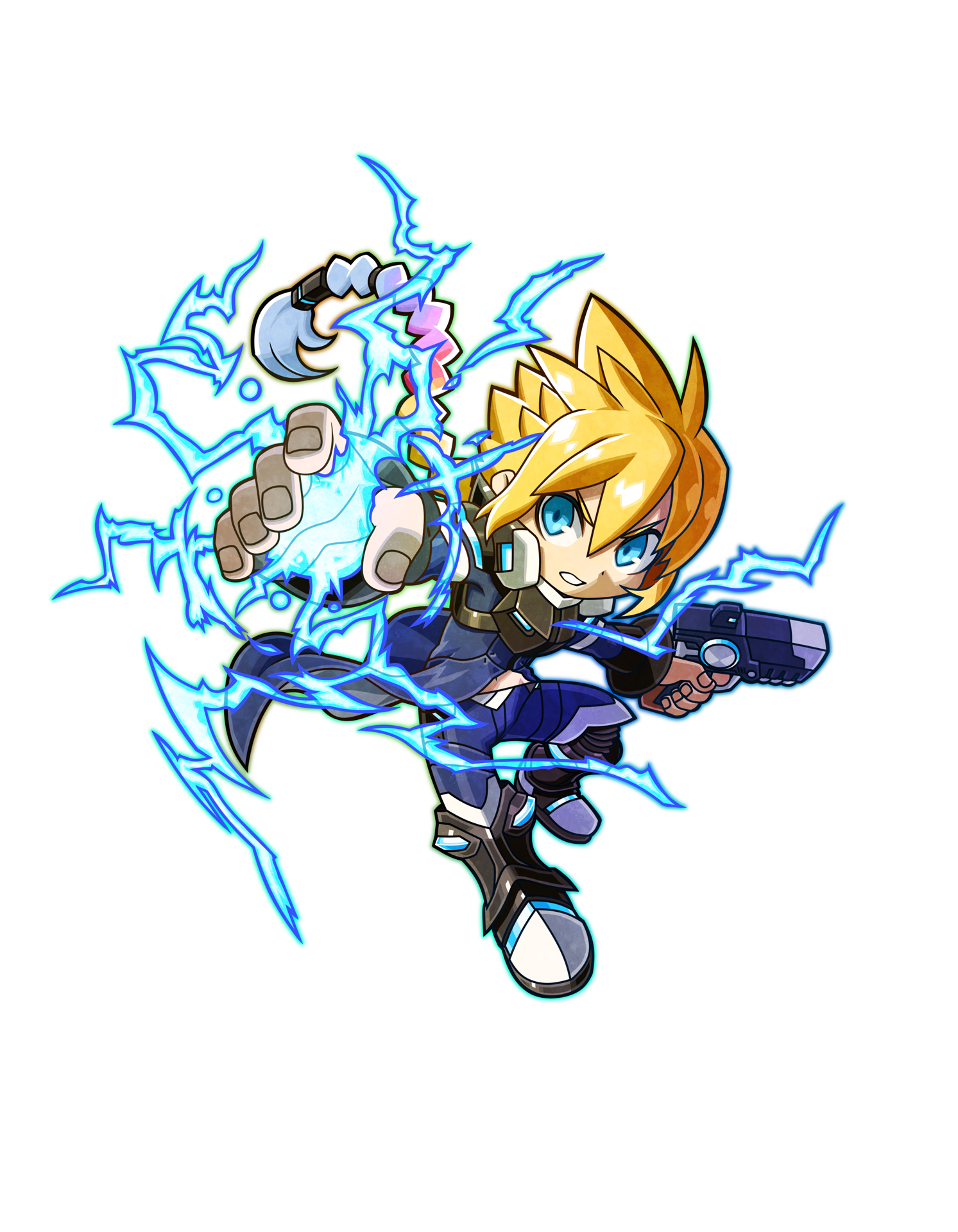 Mighty Gunvolt Burst - Gunvolt Art