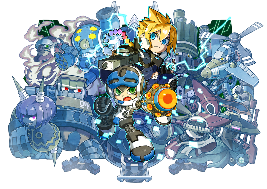 Mighty Gunvolt Burst - Key Art (small)
