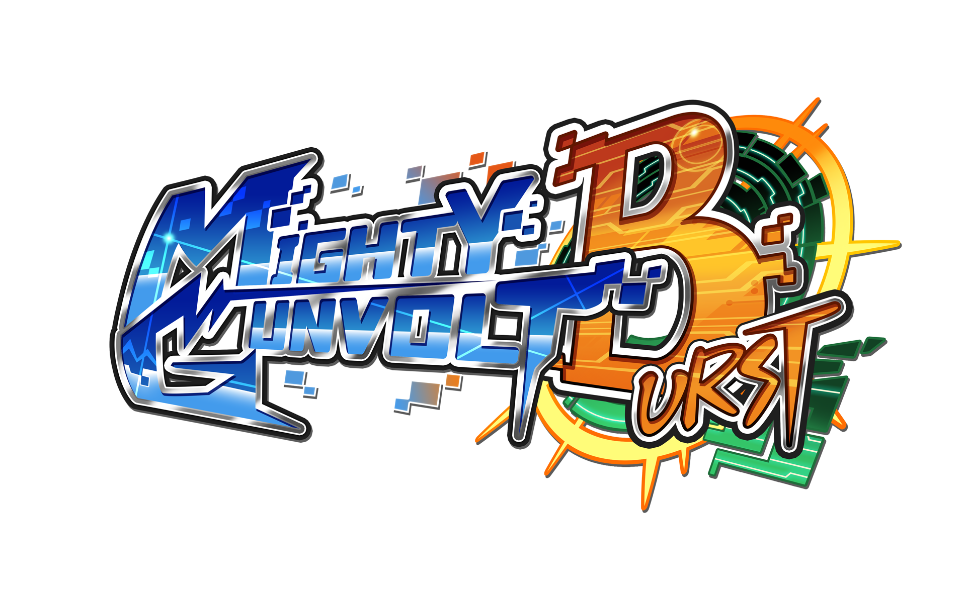 MIGHTY GUNVOLT BURST - Logo