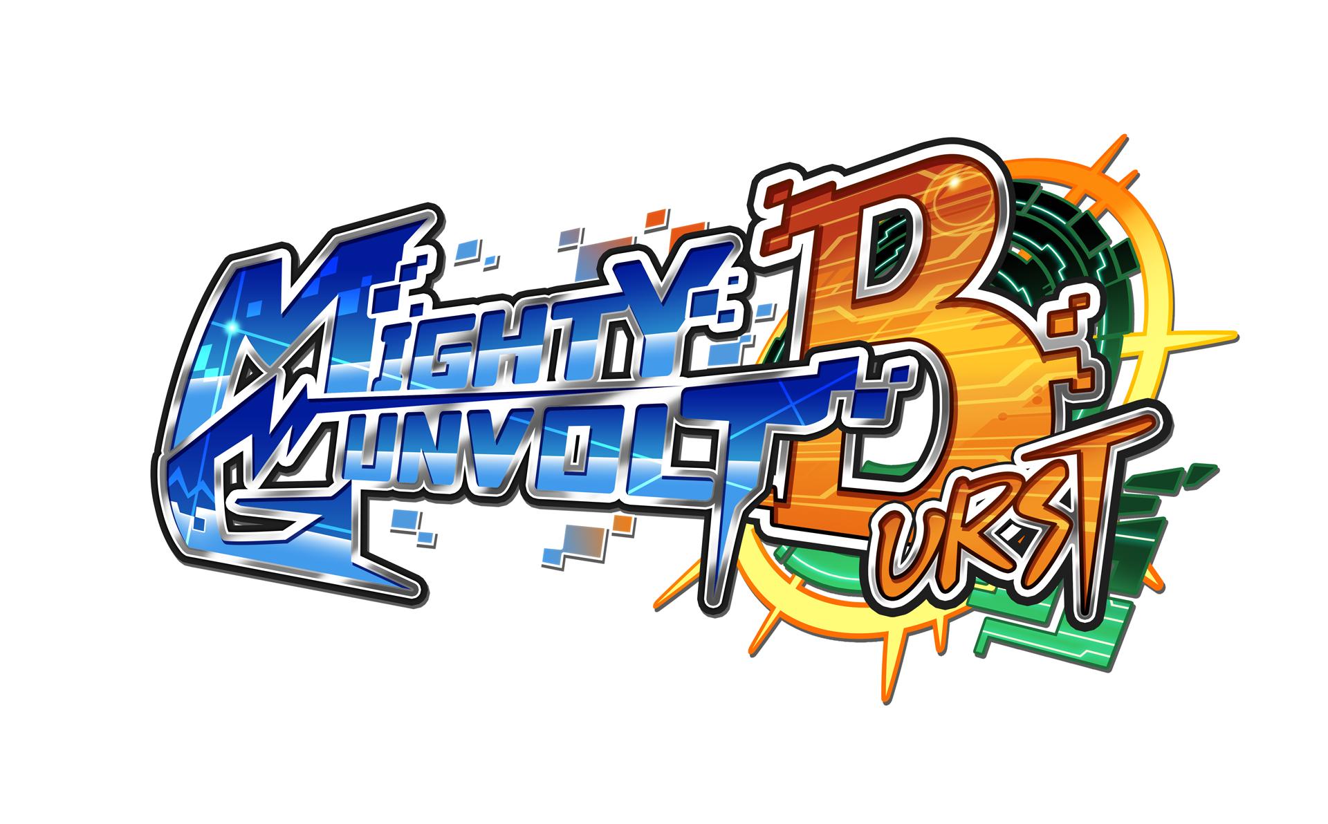 MIGHTY GUNVOLT BURST - Logo