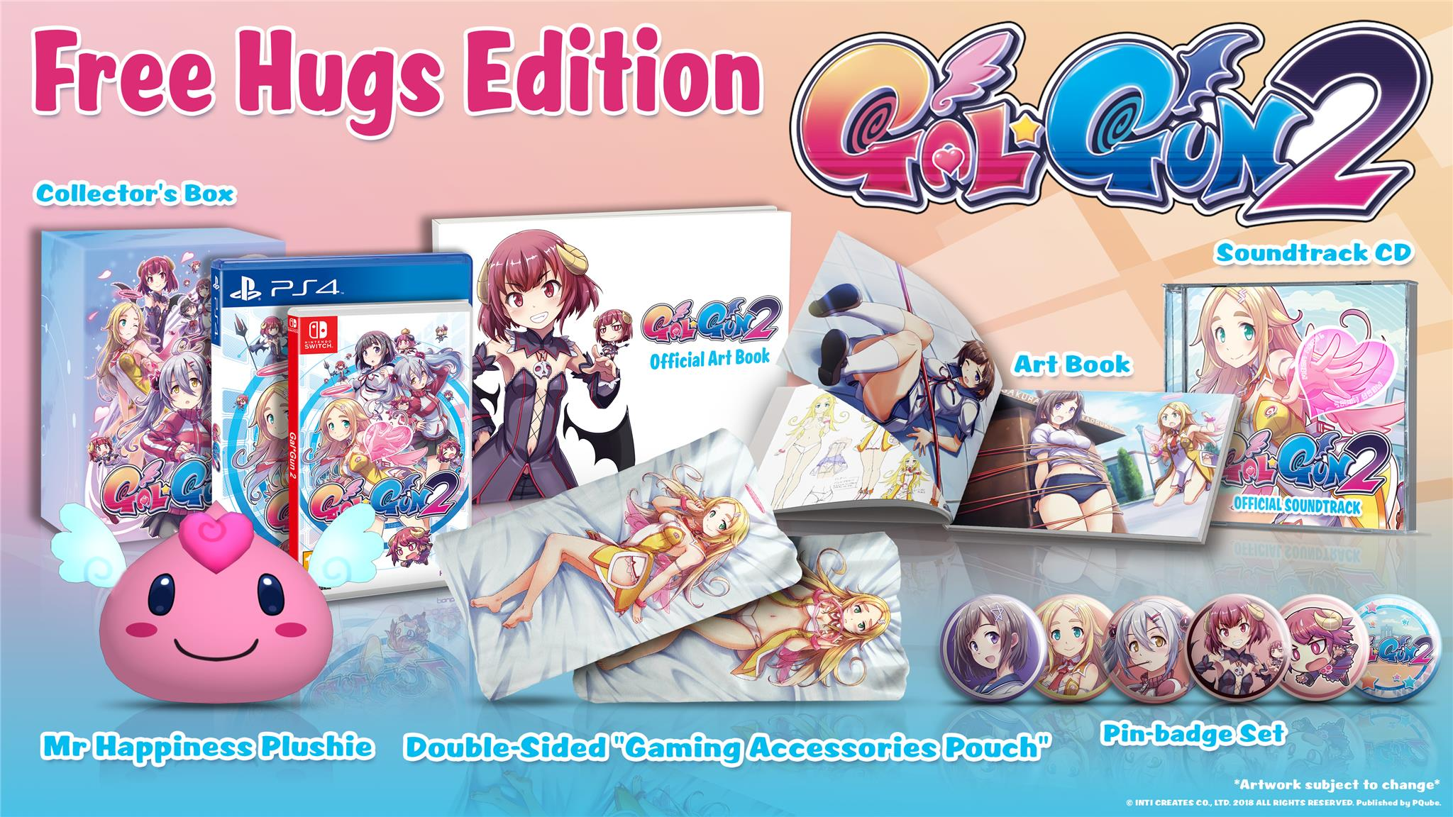 GalGun Collectors Edition Both Formats