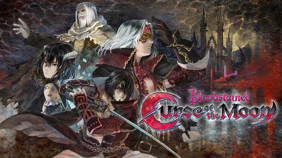 Bloodstained Curse of the Moon - Hero Banner (small)